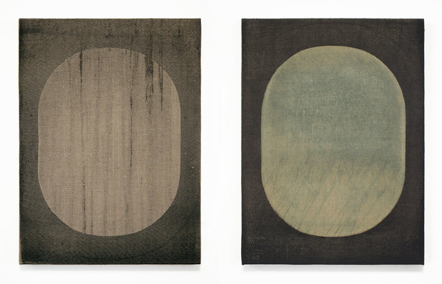 , 'Window Diptych 01, 16 x 12' each,' 2014, Gallery Nosco
