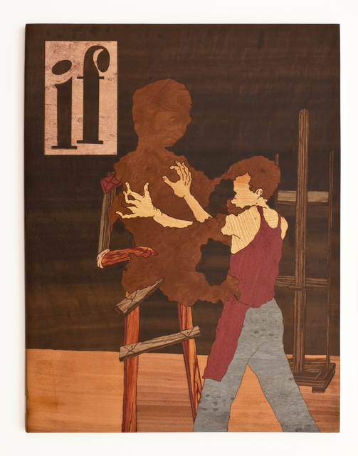 , 'If #5,' 2016, rosenfeld porcini