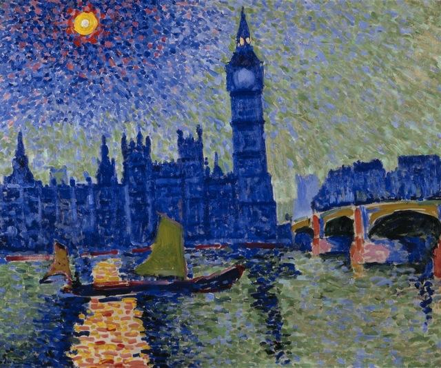 André Derain   Big Ben (1906) Fauvism
