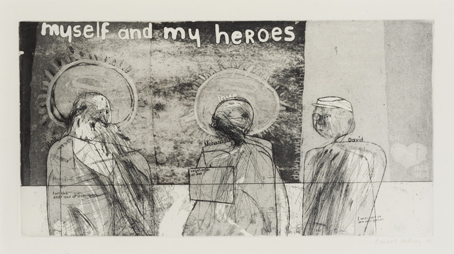 , 'Myself and My Heroes,' 1961, Sims Reed Gallery