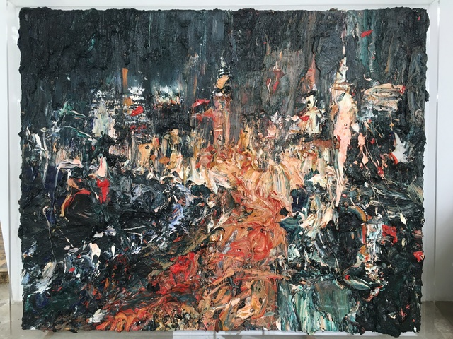 , 'The Bund,' 2017, Contemporary by Angela Li