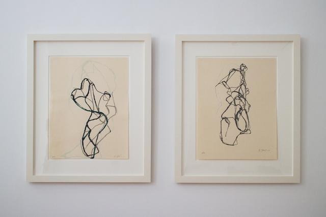 Brice Marden, 'Zen Print #1 and Zen Print #2', 2010, Planned Parenthood of New York City Benefit Auction