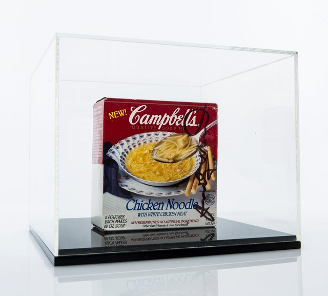 Andy Warhol, 'Untitled (Campbell's Noodle Soup Box)', 1986, Print, Works on paper, and black marker on store bought Cambell's soup box, Heritage Auctions