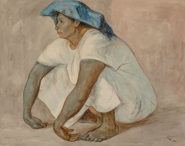 Francisco Zúñiga, 'Untitled (Seated Woman)', 1971, Heritage Auctions