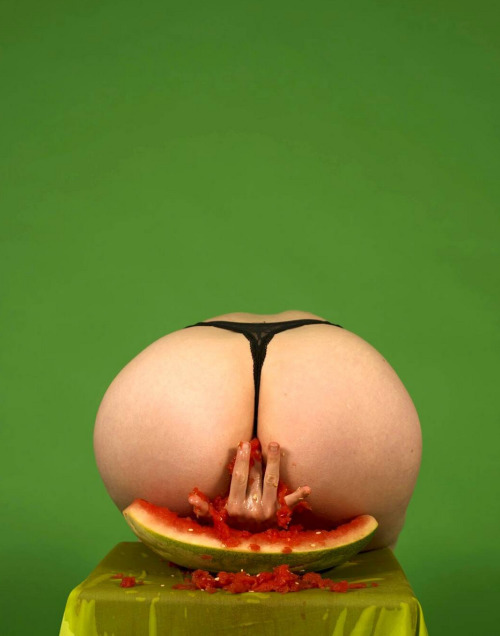 , 'Feed da Booty: Watermelon,' 2016, Bronx Museum of the Arts