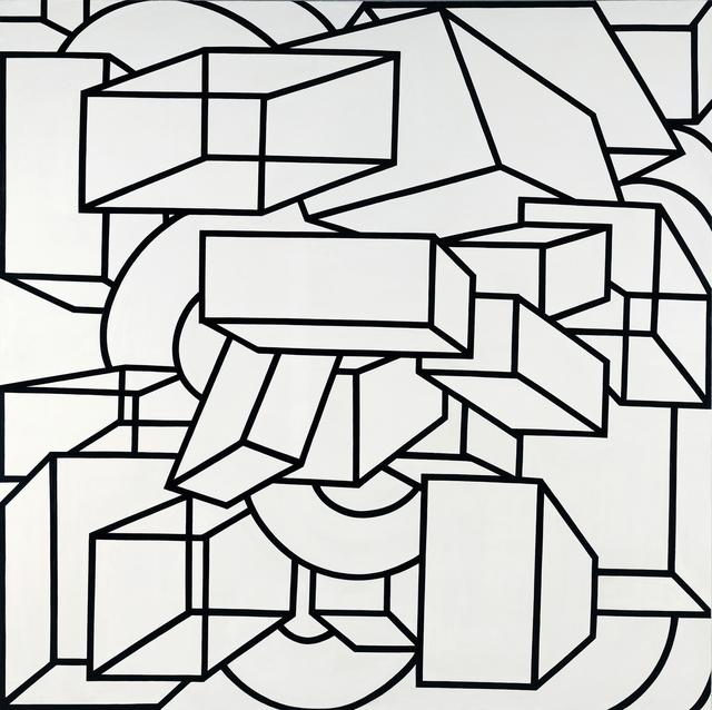 , 'Phoenicia VI,' 1969, Al Held Foundation