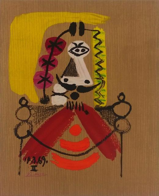 , 'Portraits imaginaires 14 3 69 II,' 1971, Bogena Galerie