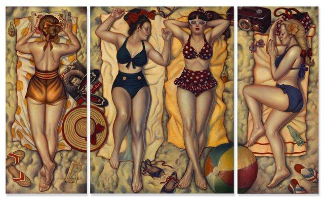 , 'Summertime Bliss Triptych,' , Joanne Artman Gallery