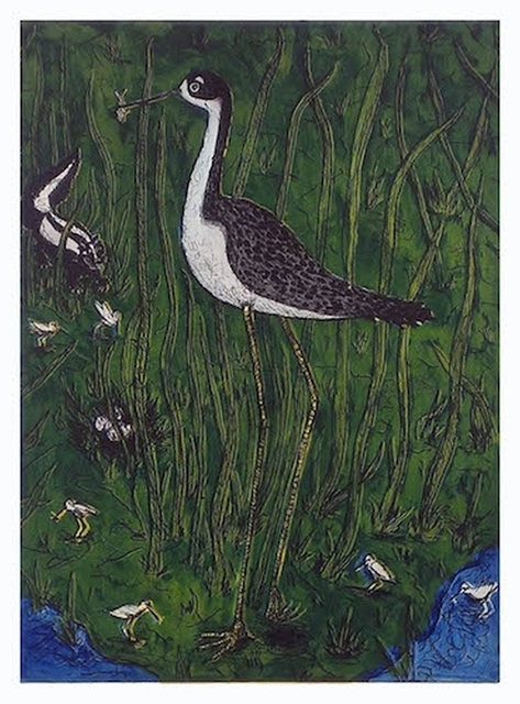 , 'Black Necked Stilt,' 2014, William Campbell Contemporary Art, Inc.