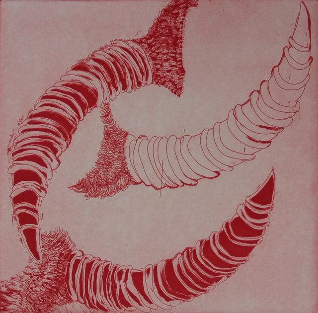 , 'Red Horn,' 2016, Gallery One