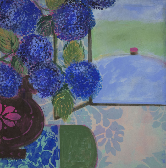 , 'Favorite Blue Flowers,' 2014, Kathryn Markel Fine Arts