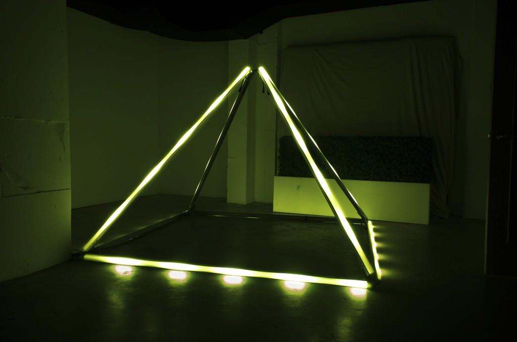 Nitemind, Pyramid,  7 x 4', LEDs, 2017