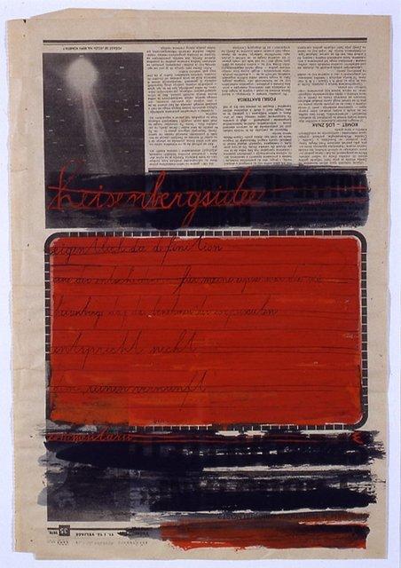 , 'Heisenbergsidee,' 1978, Galerie Martin Janda