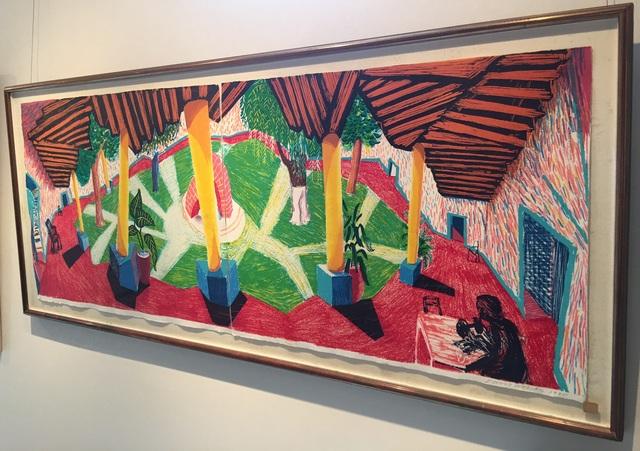 David Hockney, 'Hotel Acatlan: Two Weeks Later', 1985, Curio