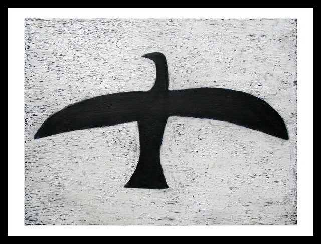 , 'Black Bird #2,' 2013, Newzones