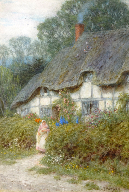 , 'A Wiltshire Cottage,' , Chris Beetles Gallery