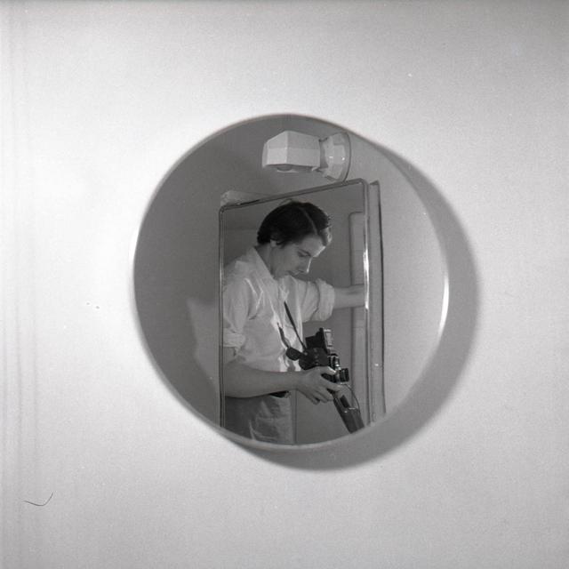 , 'VM19XXW00179-MC - n.d., Self-Portrait Round Mirror,' Printed 2017, KP Projects