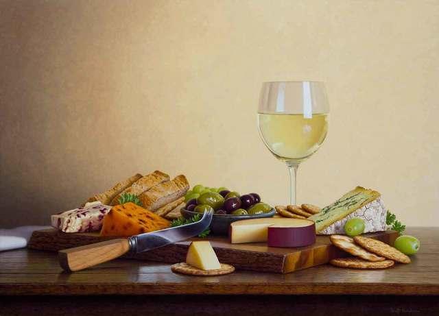 , 'Cheese Board,' 2018, Catto Gallery