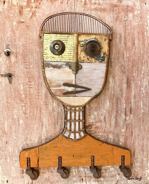 , 'Wheels Portrait,' 2017, TOTH GALLERY