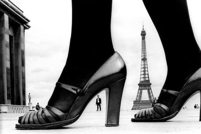 , 'For Stern, Shoe and Eiffel Tower (A), Paris,' 1974, Holden Luntz Gallery