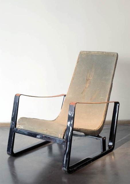 """, '""""Cité"""" armchair,' ca. 1933, Jousse Entreprise"""