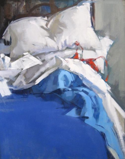 , 'Blue Blankets,' 2016, J. Cacciola Gallery