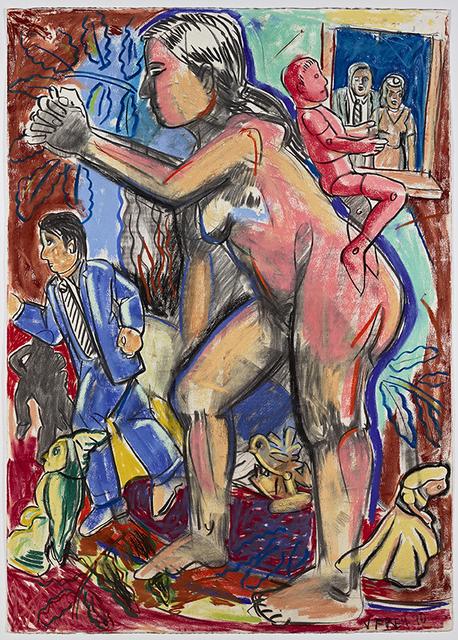"""Viola Frey, '""""Untitled (Studio Model Series)"""" ', 1990, James Harris Gallery"""