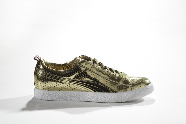, 'PUMA x Undefeated, Clyde Gametime Gold,' 2012, American Federation of Arts
