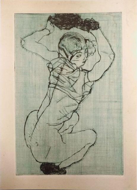 , 'Knieendes Mädchen,' 1990, Wallector
