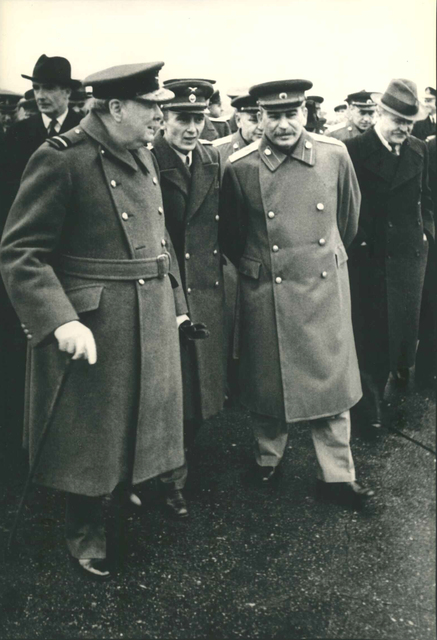 , 'Winston Churchill Visits Moscow,' 1942, Atlas Gallery