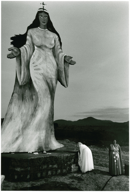 , 'Two Women Making an Offering to a Statue of a Goddess, Brazil,' 1980, Be-hold