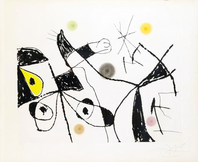 Joan Miró, 'Mallorca', 1973, Le Coin des Arts