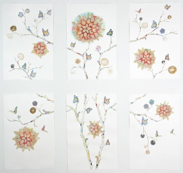 Marilla Palmer, 'Monarchs and Mandalas', 2019, Kathryn Markel Fine Arts