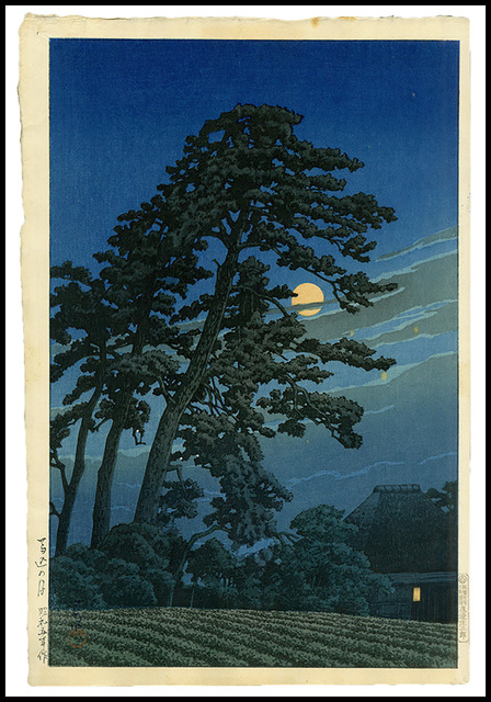 , 'Moon over Magome,' 1930, Verne Collection, Inc.