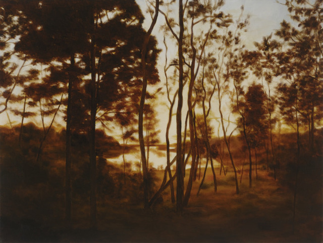 , 'Fall Forest Light,' 2015, DANESE/COREY
