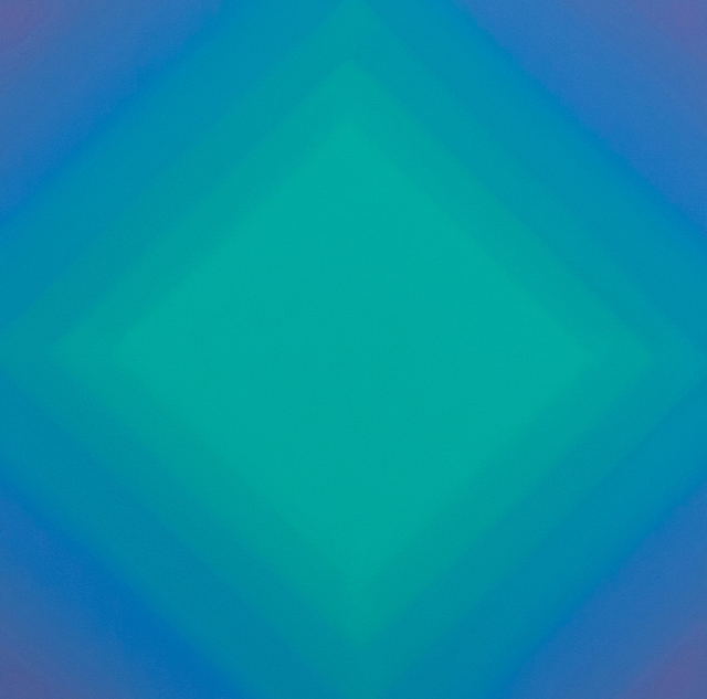 , 'Matter of Light 4-S4848 (Magenta Phthalo Square Diamond),' 2016, David Klein Gallery