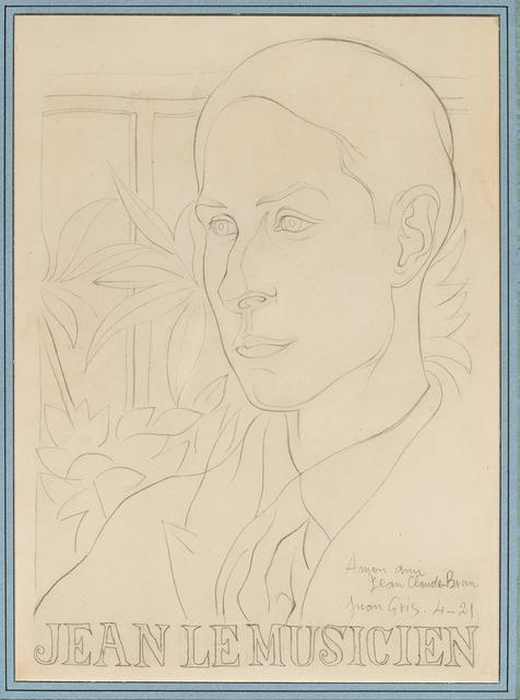 , 'Jean le musicien,' 1921, DICKINSON