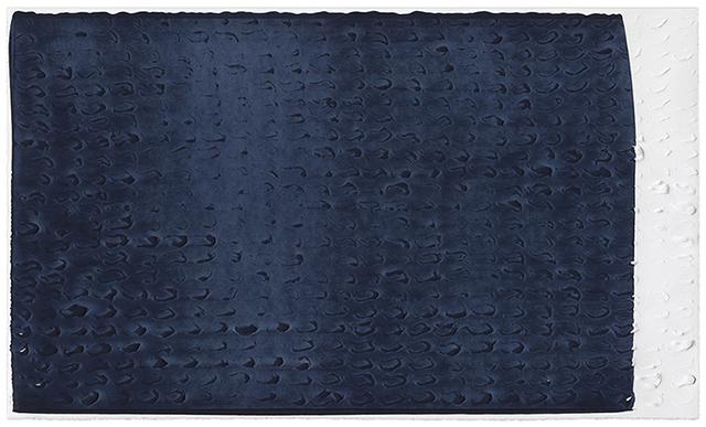 , 'Brushstroke Matrix, L (Payne's Gray),' 2017, Gemini G.E.L. at Joni Moisant Weyl