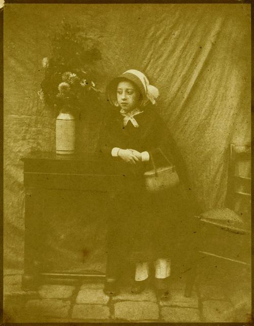 , 'Petite Fille au Bouquet (Georgina Benoist),' ca. 1847, Contemporary Works/Vintage Works