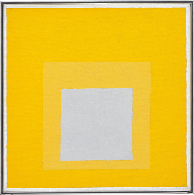 Josef Albers, 'Study for Homage to the Square: Decided', 1957, Painting, Oil on masonite, Phillips