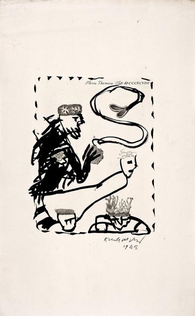 , 'Flora Danica,' 1988, Galerie Lelong & Co.