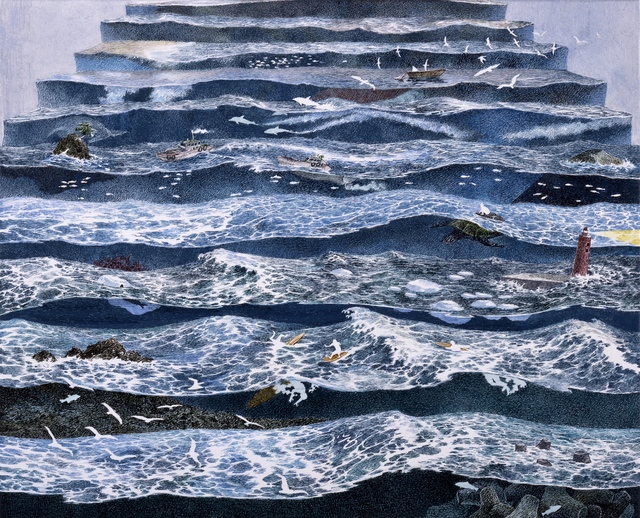 , 'Staircase of Waves,' 2010, Japan Society