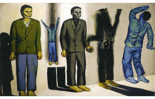 , 'Execution VIII,' 1949, Centre for Fine Arts (BOZAR)