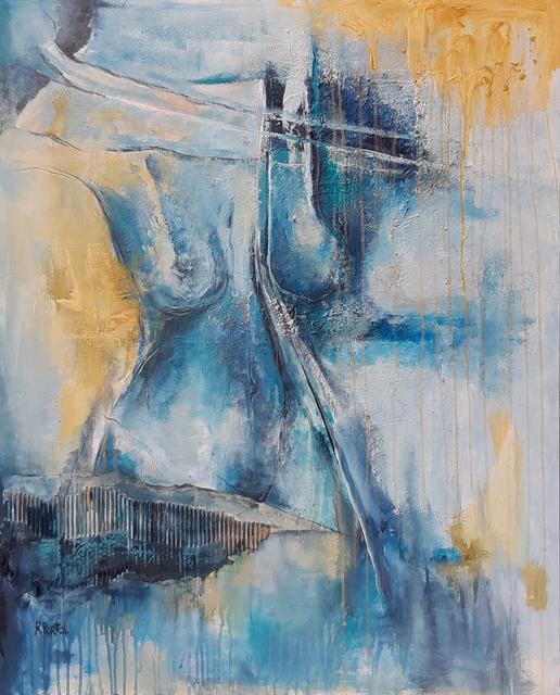 Roxana Portal, 'Arkana XI ', 2018, Painting, Mixed media on canvas, ACCS Visual Arts