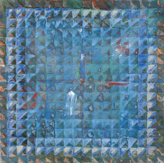 , 'untitled blue 2,' 1975, Tile Blush