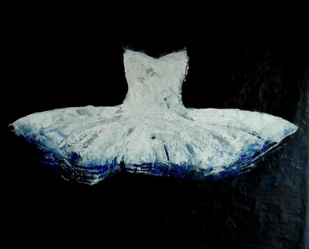 Ewa Bathelier, 'Big White tutu'', 2017, Galleria Ca' d'Oro