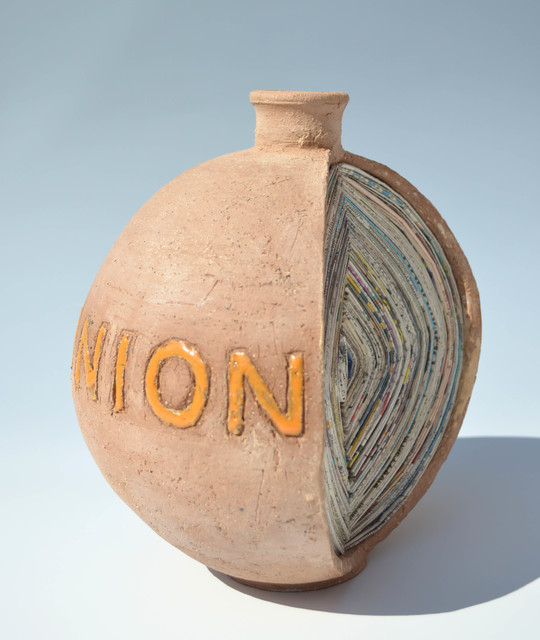 , 'Peel the Onion,' , Royal Society of Sculptors