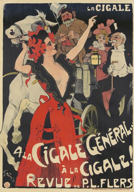 Jules-Alexandre Grun, 'A la Cigale Général', 1899, Rennert's Gallery