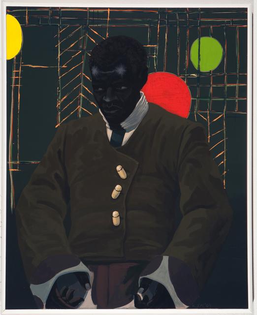 , 'The Actor Hezekiah Washington as Julian Carlton Taliesen Murderer of Frank Lloyd Wright Family,' 2009, MCA Chicago