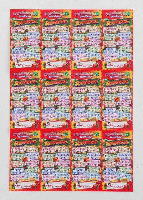 , 'Tombola superenalotto,' 2011, Studio SALES di Norberto Ruggeri